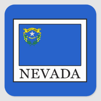 Nevada Square Sticker