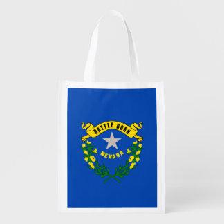 Nevada State Flag Design Grocery Bag