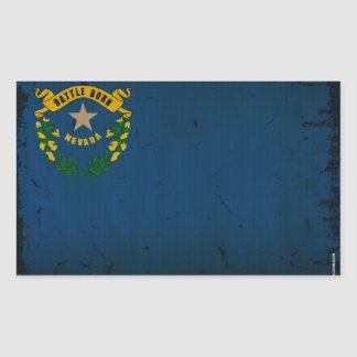 Nevada State Flag VINTAGE.png Sticker