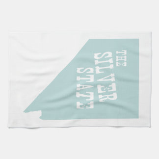 Nevada State Motto Slogan Kitchen Towels