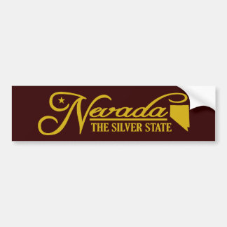 Nevada (State of Mine) Bumper Sticker