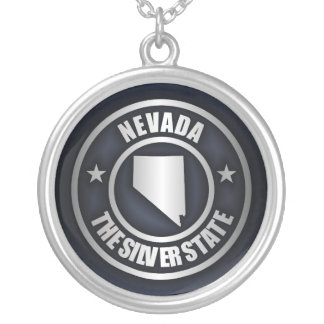 """Nevada Steel 2"" Necklace"