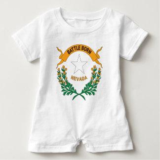 NEVADA SYMBOL BABY ROMPER