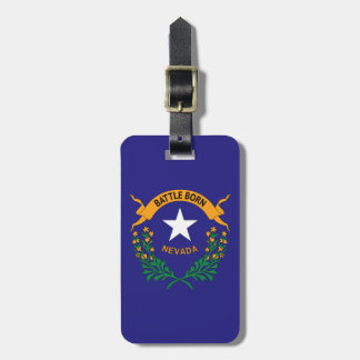 NEVADA SYMBOL LUGGAGE TAG