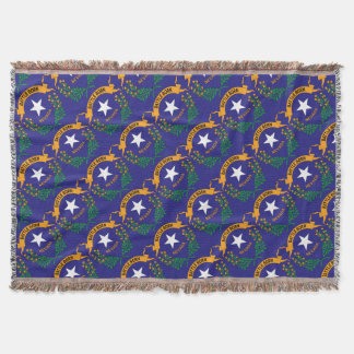 NEVADA SYMBOL THROW BLANKET