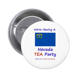 Nevada TEA Party - We re Taxed Enough Already Pins