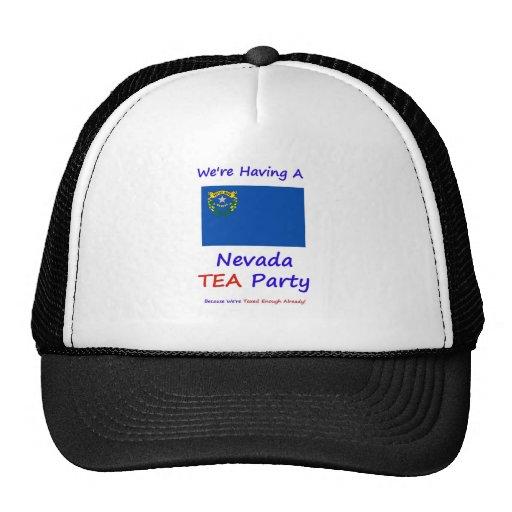 Nevada TEA Party - We're Taxed Enough Already! Hats