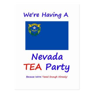 Nevada TEA Party - We're Taxed Enough Already! Postcard