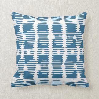 Nevaeh in Blue Throw Pillow