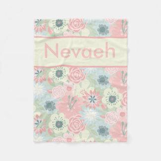 Nevaeh's Floral Blanket