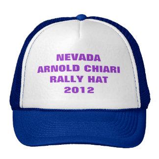 NEVEDA ARNOLD CHIARI RALLY HAT  2012