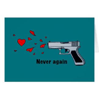 never again card