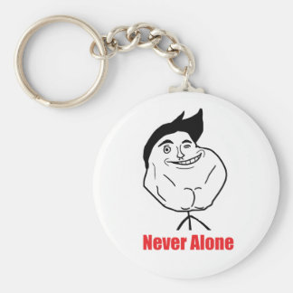 Never Alone - Keychain