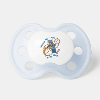 never be late for bed pacifier