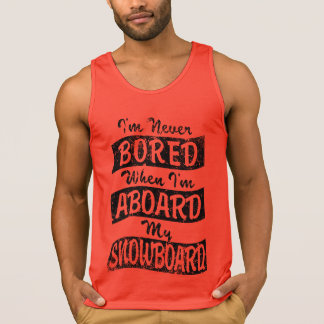Never BOARD ABOARD my SNOWBOARD (Blk)