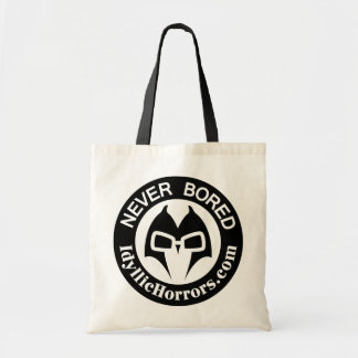 Never Bored - Idyllic Horrors Promo Tote Budget Tote Bag