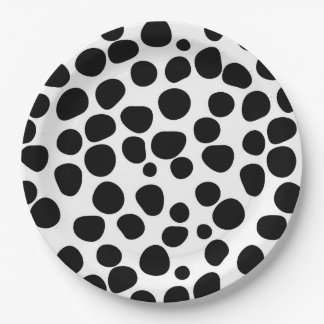 Never Change Your Spots 9 Inch Paper Plate