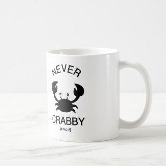 Never Crabby Mug