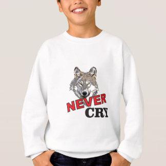 never cry wolf sweatshirt
