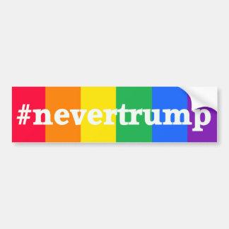 Never Donald Trump Bumper Sticker