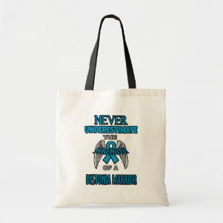 Never...Dystonia Warrior Tote Bag