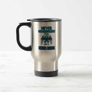 Never...Dystonia Warrior Travel Mug