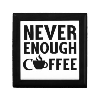 NEVER ENOUGH COFFEE GIFT BOX