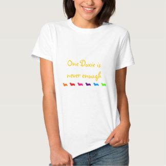 Never Enough Doxies-Long coats Tee Shirts
