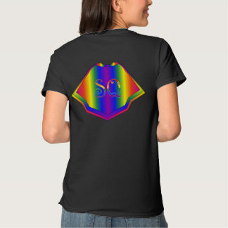 Never Fear it's Super Queer Gay Pride Flag Cape Shirts