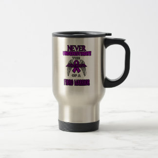 Never...Fibro Warrior Travel Mug
