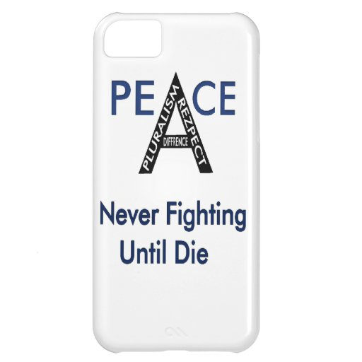 Never Fighting Until Die iPhone 5C Cover
