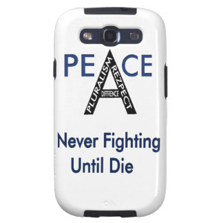 Never Fighting Until Die Samsung Galaxy S3 Cover