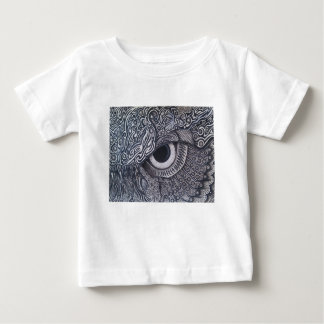 Never Finished Tribal owl Eye Baby T-Shirt