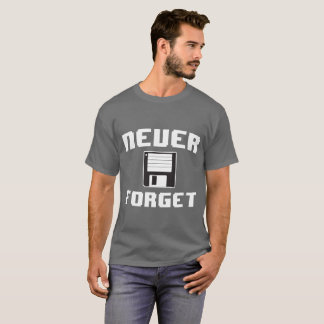 Never Foret the Floppy Disc T-Shirt