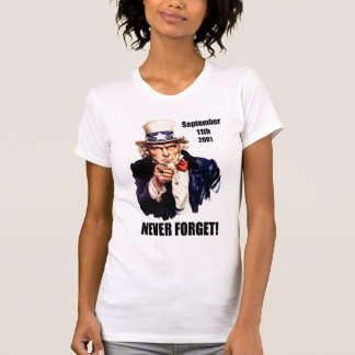 Never forget 9/11 tee shirts