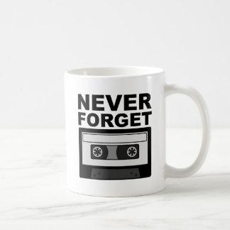 Never Forget Cassette Funny Mug