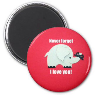 Never forget I love you! Magnet