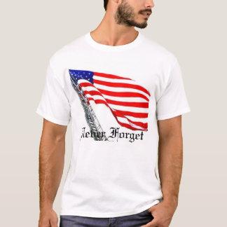 Never Forget Ladder Flag T-Shirt
