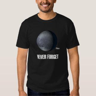 Never Forget Pluto Dark T-Shirt