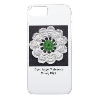 Never Forget Srebrenica iPhone 7 Case