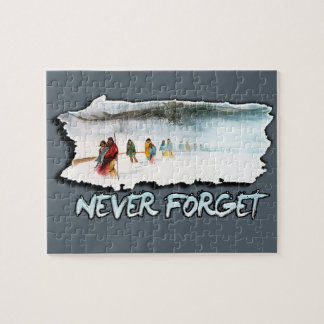 Never Forget the Trail of Tears Jigsaw Puzzle