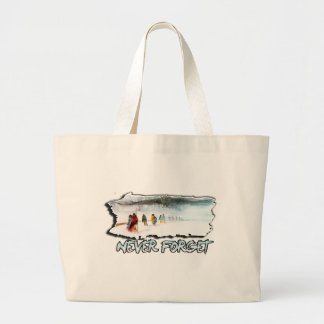 Never Forget the Trail of Tears Large Tote Bag