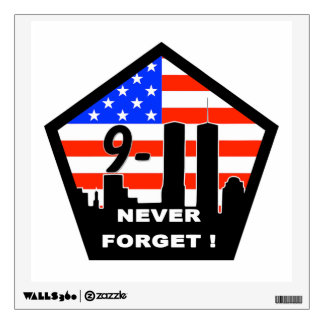 Never Forget Wall Decal