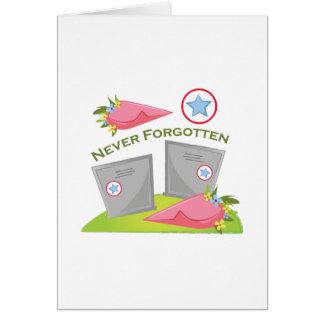 Never Forgotten Card