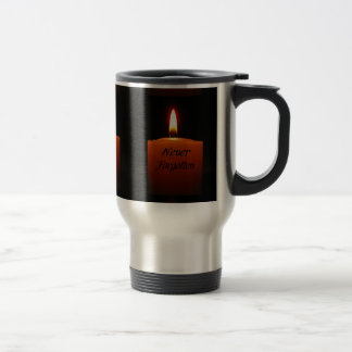 Never Forgotten Remembrance Candle Flame Coffee Mug