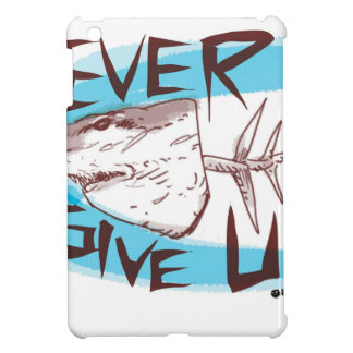 never give up cover for the iPad mini