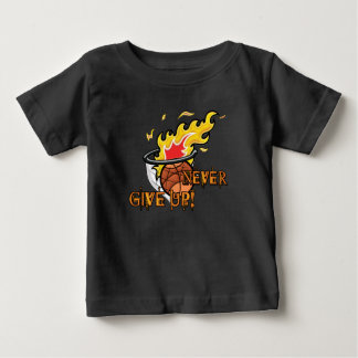 Never Give Up Hebrews Chapter 11 Baby T-Shirt