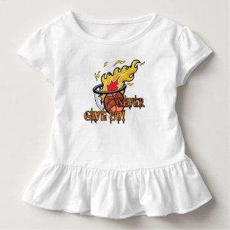 Never Give Up Hebrews Chapter 11 Toddler T-shirt