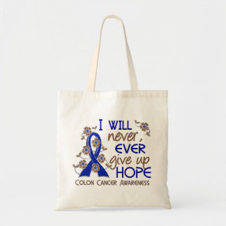 Never Give Up Hope 4 Colon Cancer Bag