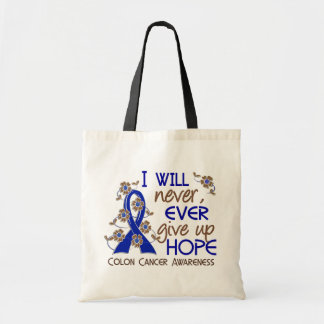 Never Give Up Hope 4 Colon Cancer Bags